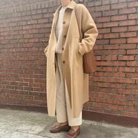 handmade soutien collar coat[camel]