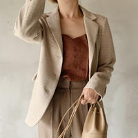 check jacket[beige]