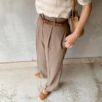 basic slacks[khaki]