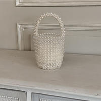 pearl×clear bag