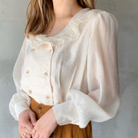 【即納】airy blouse