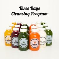 【ビューティコース】THREE DAYSプログラム - クレンジングプログラム(6本×3日)
