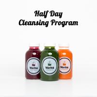 【デトックスコース】HALFデイプログラム - クレンジングプログラム(午後から3本)