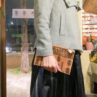 KIMONO帯クラッチポーチ