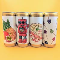 スウェーデンからフルーツビールの匠<Brewski>研究4本セット