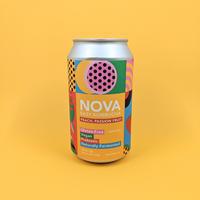 Novo Brazil / Peach Passion Fruit / Kombucha / 6% / 355ml
