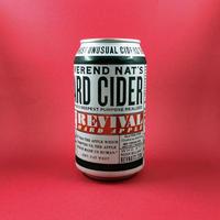 Reverend Nat's Hard Cider / Revival Hard Apple / Cider / 6% / 355ml
