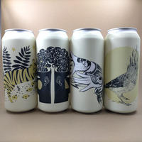 Collective Arts / Earl Grey Wheat / Wheat Ale w/Earl Grey / 5% / 473ml