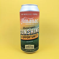 Almanac / Sunshine & Opportunity / Barrel Aged Sour Ale / 5.6% / 473ml