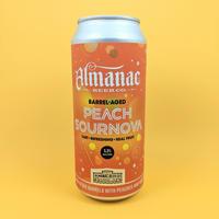 Almanac / Peach Sournova / Barrel Aged Sour Ale / 5.5% / 473ml