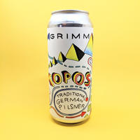 Grimm / Topos / Traditional German Pilsner / 5% / 473ml