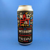 Interboro / Mad Fat 4th Anniversary / Triple IPA / 10% / 473ml