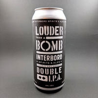 Interboro / Louder Than A Bomb / Double IPA / 8% / 473ml