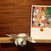 ポストカード 乙姫箱ひろよ 少女の夏休み 2018for花蓮 HANDandHEART