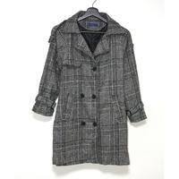 Glen Check Coat/グレンチェックコート