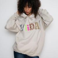 animal viida hoodie(beige)