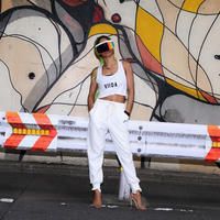 ViiDA crush pants(white)