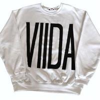 ViiDAロゴスウェット(white)