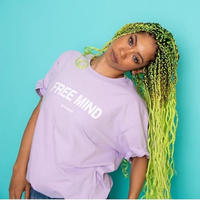 Free Mind tee(lavender)