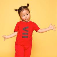 ViiDAkids VII T-shirt (red)