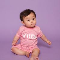 ViiDAbaby ロンパース (pink)