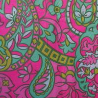 #212 サイケなピンクの模様
