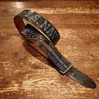 【 U.S.NAVY 】 Leather belt