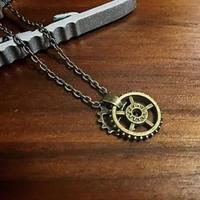 【再販】歯車ネックレス