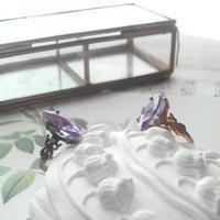 ヴィンテージ アレキサンドライト クラシカル指輪(真鍮古美orアンティークゴールド)