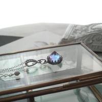 アンティーク サフィレット レアPointed Silver925製ネックレス