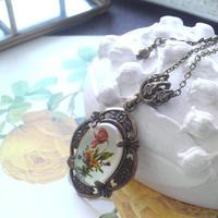 ヴィンテージ チューリップ Flowerクラシカルネックレス