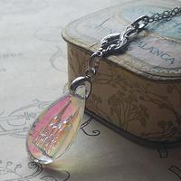 ヴィンテージ ケルン大聖堂 Auroraインタリオ(ArtNouveau)  Silverネックレス