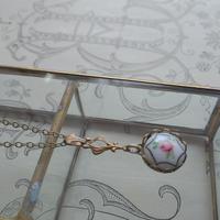 Antique 可憐な薔薇/Hexagonal クラシカルネックレス