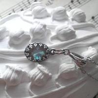 サフィレット(アンティーク)AntiqueSilverネックレス