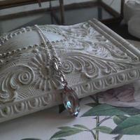 サフィレット(15×7ミリ) Silver925 ネックレス