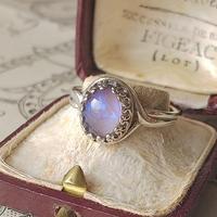 ドラゴンズブレス Tanzanite(10×8ミリ)  Silver925製クラシカル指輪