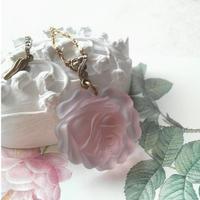 ヴィンテージ レア Silkローズ薔薇 アンティークゴールドネックレス
