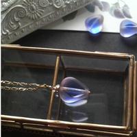 ヴィンテージ Blue/ロザリン Perfume ロングネックレス