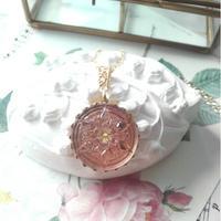 ヴィンテージ Snowflake-Button/ロザリン ネックレス