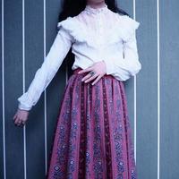 Pink×Blue Tyrol Skirt