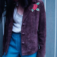 Western  Suede Leather Jacket