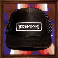 JOHNNY MESH CAP 【BLACK】ROUND VISER/CHOP