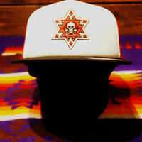 2017 JOHNNY CAP 【RED & WHITE&つばBLACK】HEXAGRAM