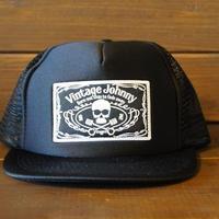 JOHNNY MESH CAP 【BLACK/FTW】スクエアワッペン