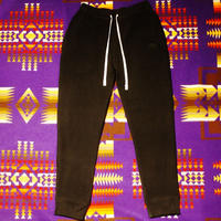 2017 JOHNNY  SWEAT PANTS 【BLACK刺繍】