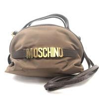 MOSCHINO モスキーノ ミニバッグ ショルダーバッグ ブラウン vintage ヴィンテージ オールド