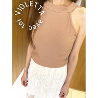3color♡ネックTOPS♡BEIGE