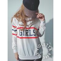 GIRLS♡ロングTシャツ