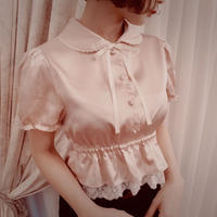 Marie - Stretch satin blouse  T