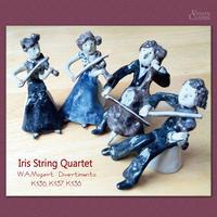 イリス弦楽四重奏団 / モーツァルト:ディヴェルティメント 第1番 第2番 第3番